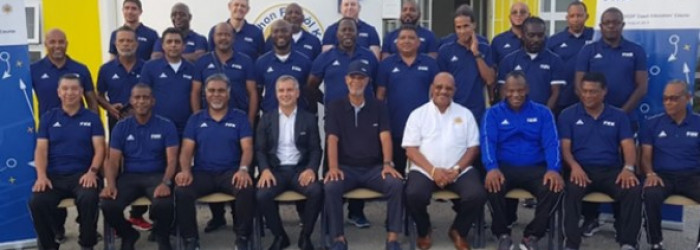 FIFA-Concacaf Coach Educators' Course on Curacao