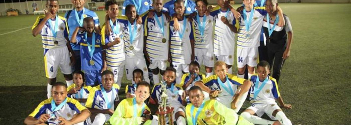 U-13 champion of Torneo Himno y Bandera Aruba