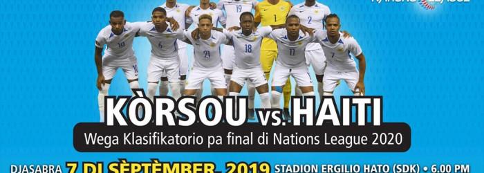 Curacao vs Haiti in Group Phase Nations League