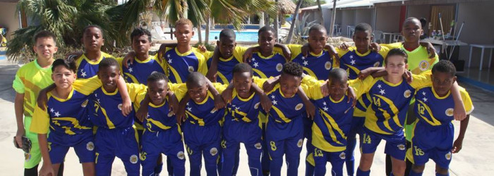 U-13 in final Aruba Tournament