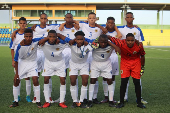 Curacao wins first match in CFU U-14 tournament