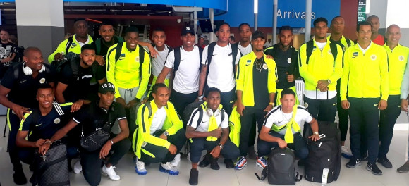 Players national selection together on Curacao