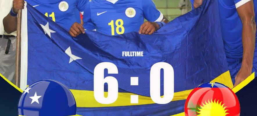 Curacao vs Guadeloupe 6-0