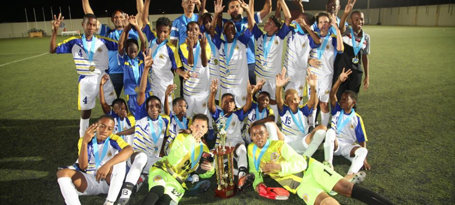 Curacao wins Final Torneo Himno & Bandera