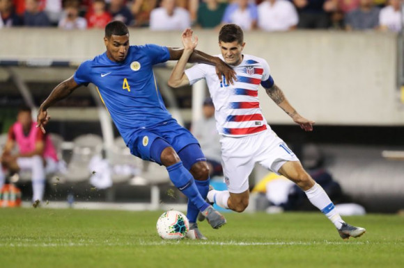 US too strong for Curacao in Gold Cup