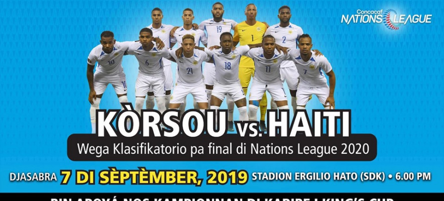 Curacao vs Haiti in Nations League