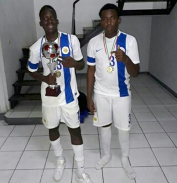 U-17 second in Surinam Tournament