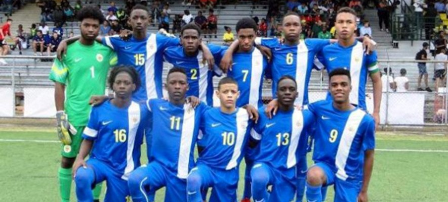 U-17 scores in Surinam friendly