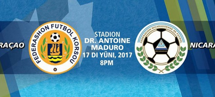 Friendly against Nicaragua on June 17 on Curacao