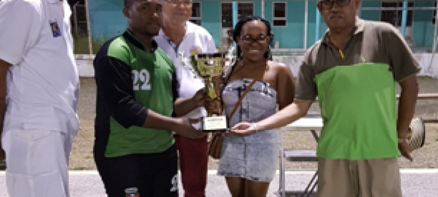 Scherpenheuvel U-20 winner Curacao Youth Competition