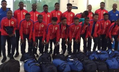 Curacao in CONCACAF U-15 tournament