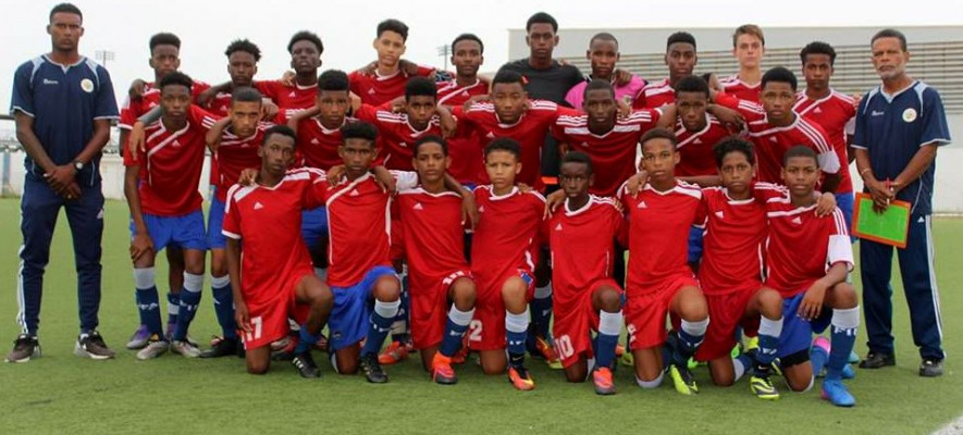Curacao in CONCACAF U-15 tournament