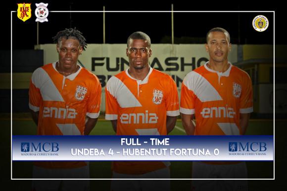 Undeba beats Hubentud Fortuna 4-0